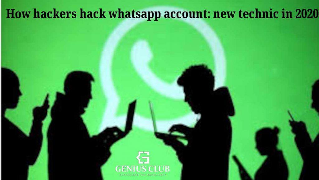 how hacker hack whatsapp