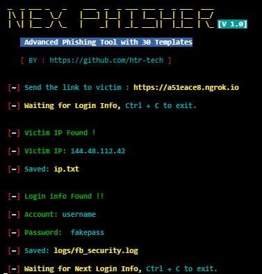 nexphisher best termux tool